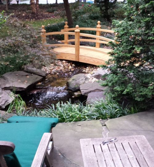 3#small pond WF bridge